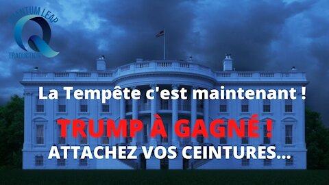 BOUUUUM ! TRUMP À GAGNÉ !! ATTACHEZ VOS CEINTURES !