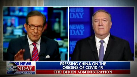 Chris Wallace Gaslights Mike Pompeo On Live TV Over Wuhan COVID Lab Leak