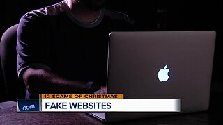12 Scams of Christmas: Watch out for fake websites