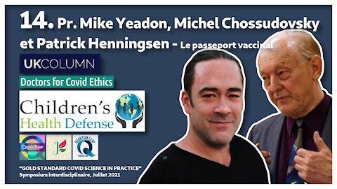 Symposium Covid 14: Le passeport vaccinal!