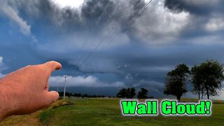 July Wall Cloud ~ Amateur Storm Chasing ~ Severe Weather 2020