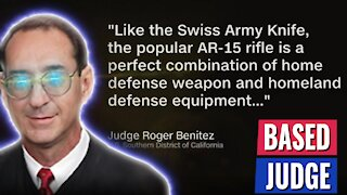 "WIN! FEDERAL JUDGE STRIKES DOWN CALIFORNIA BAN ON ""ASSAULT WEAPONS"" - PRAISES AR-15"