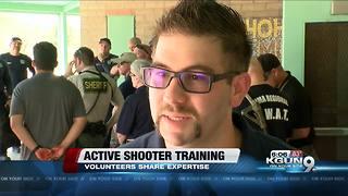 Volunteers teach active shooter response