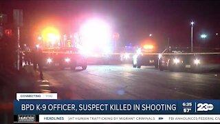BPD K-1 officer, suspect killed in shooting