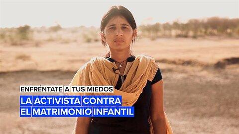Enfréntate a tus miedos: Activista luchando contra el matrimonio infantil