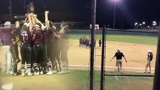 Kellyville's slow-pitch softball team wins state, makes history