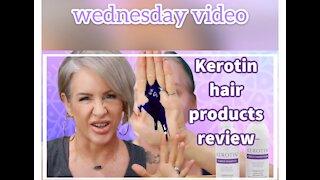 KEROTIN HAIR PRODUCT REVIEW