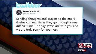 Social media condolences for Gretna community