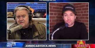 Brandon Straka Interview before FBI Arrest w/Steve Bannon