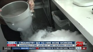 Kern Back in Business: Creamistry is hiring