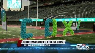 Cox brings holiday cheer to single moms