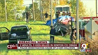 5 family members killed in crash