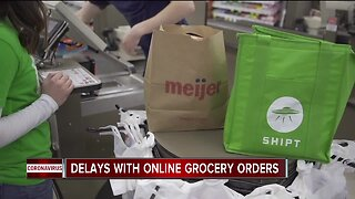 Delays with online grocery orders during COVID-19 outbreak