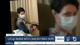 Local Nurse with cancer finds hope