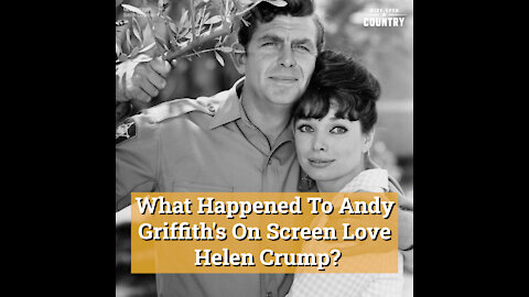 What Happened To Andy Griffith's On Screen Love Helen Crump?