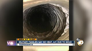 Military families say mold is making them sick
