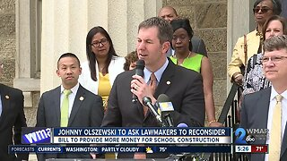 Olszewski continues to fight for school construction bill