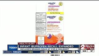Infant ibuprofen recall expanded