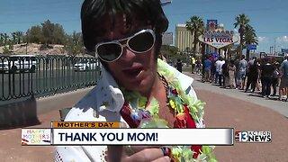 People in Las Vegas thank their oms