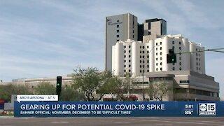 Arizona hospitals preparing for possible COVID-19 spike