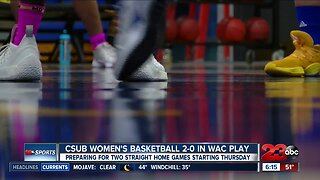CSUB Women's Basketball confident heading into third WAC game