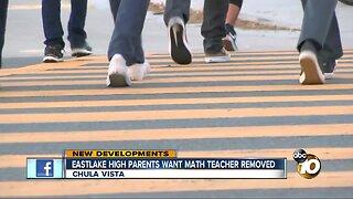 Eastlake High school parents want math teacher removed