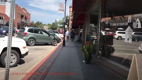 A Walk Thru Downtown Overland Park Kansas