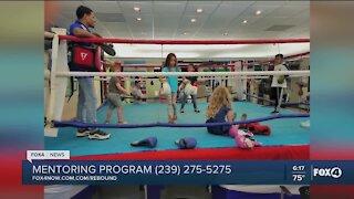Boxing mentoring program