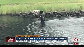 Mother charged with murder in daughter's drowning case