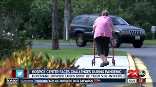 Hospice center faces challenges during pandemic