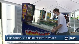 Fox 4 meteorologist is World Pinball Champ