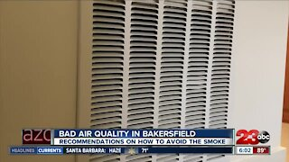 Bad air quality in Bakersfield