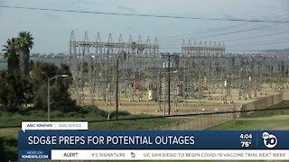 SDG&E preps for potential outages