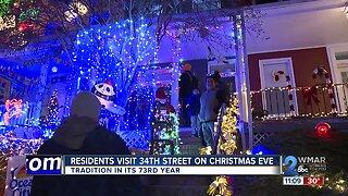 Christmas Eve on 34th Street