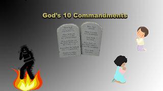 God's 10 Commandments