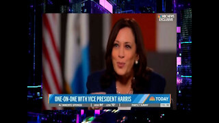 Kamala Harris Tells Immigrants Not To Come To U.S., Laughs Off Not Going To Border