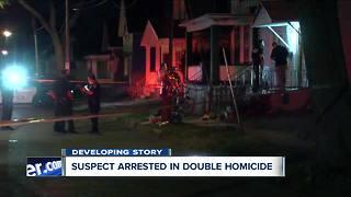 Suspect arrested in Grape Street double homicide