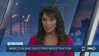 Police investigate shooting in Marco Island home