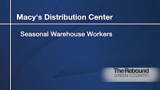 Who's Hiring: Macy's Distribution Center