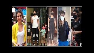 Varun Dhawan, Sunny Leone, Arrti Singh, Karishma Tanna & Kim Sharma Snapped Heading Towards The Gym