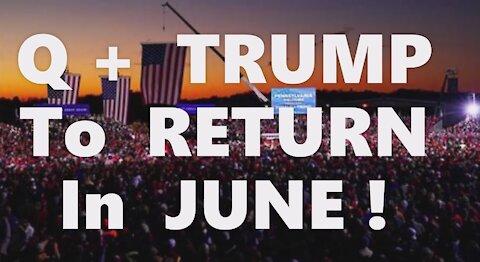 Trump's June Return! New American Republic! No Income Tax! Insurrection FEMA Elections Gold Standard