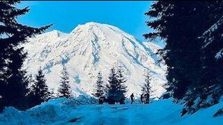 Mt Rainier South Side Dec 23 2020