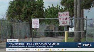 City Council to talk about Centennial Park