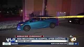 Man shot in Spring Valley