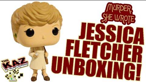Murder, She Wrote Jessica Fletcher Funko Pop Unboxing