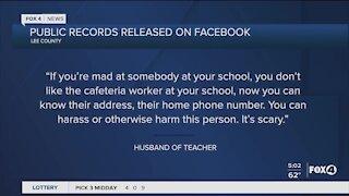 School teacher information released