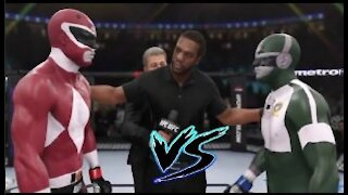 Power Ranger vs. Bioman I UFC EA Sports