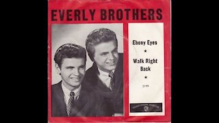 Ebony Eyes By The Everly Brothers cover by Johnny May UK