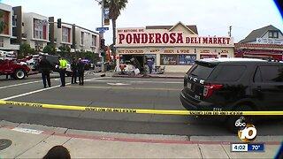 3 people injured after police vehicle crashes into Barrio Logan store