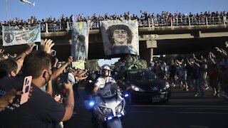 Fans Mourn Soccer Legend Diego Maradona As 'Man Of The People'